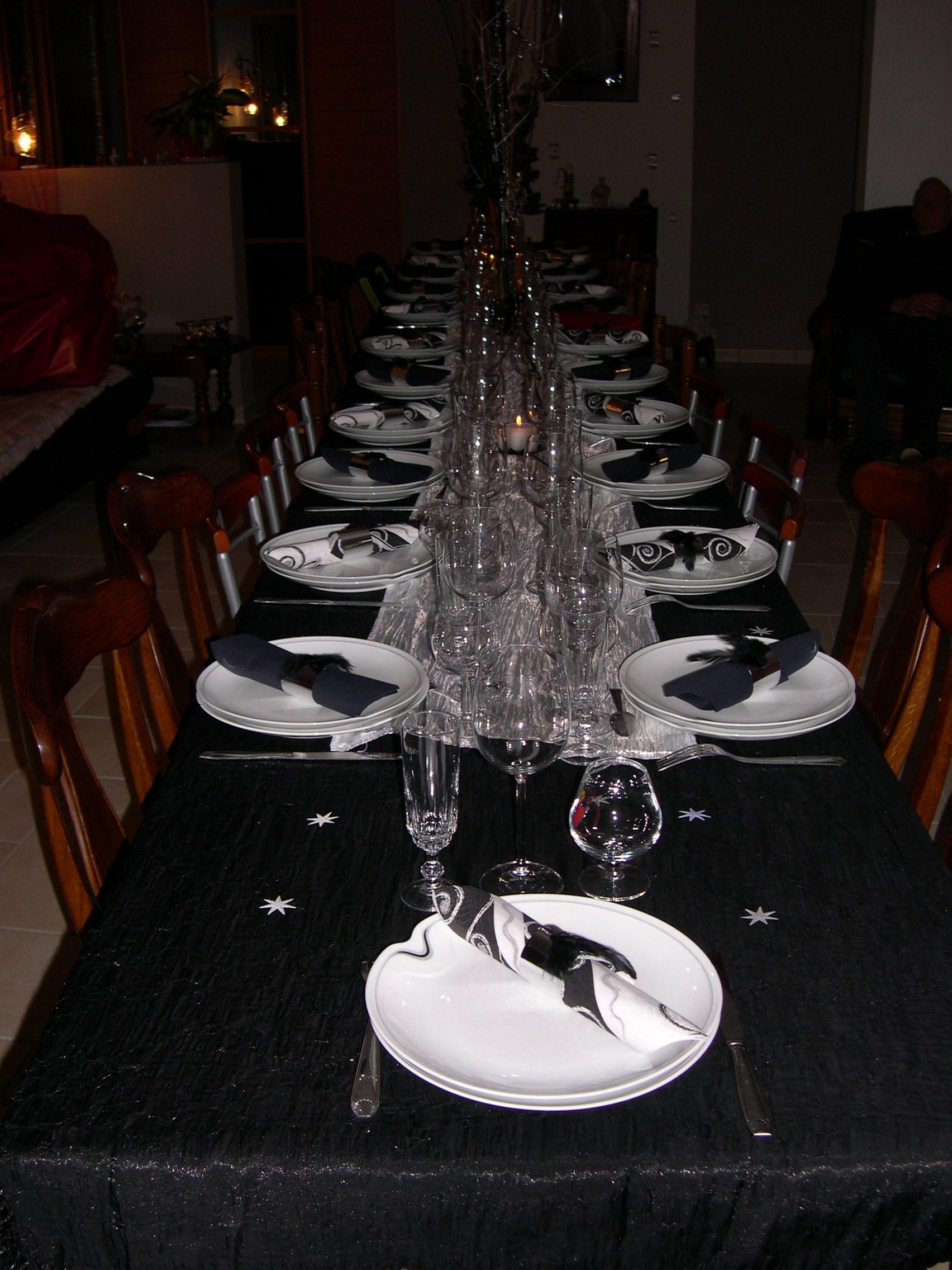 D co de tables sebetfredconseil - Table noel blanc ...