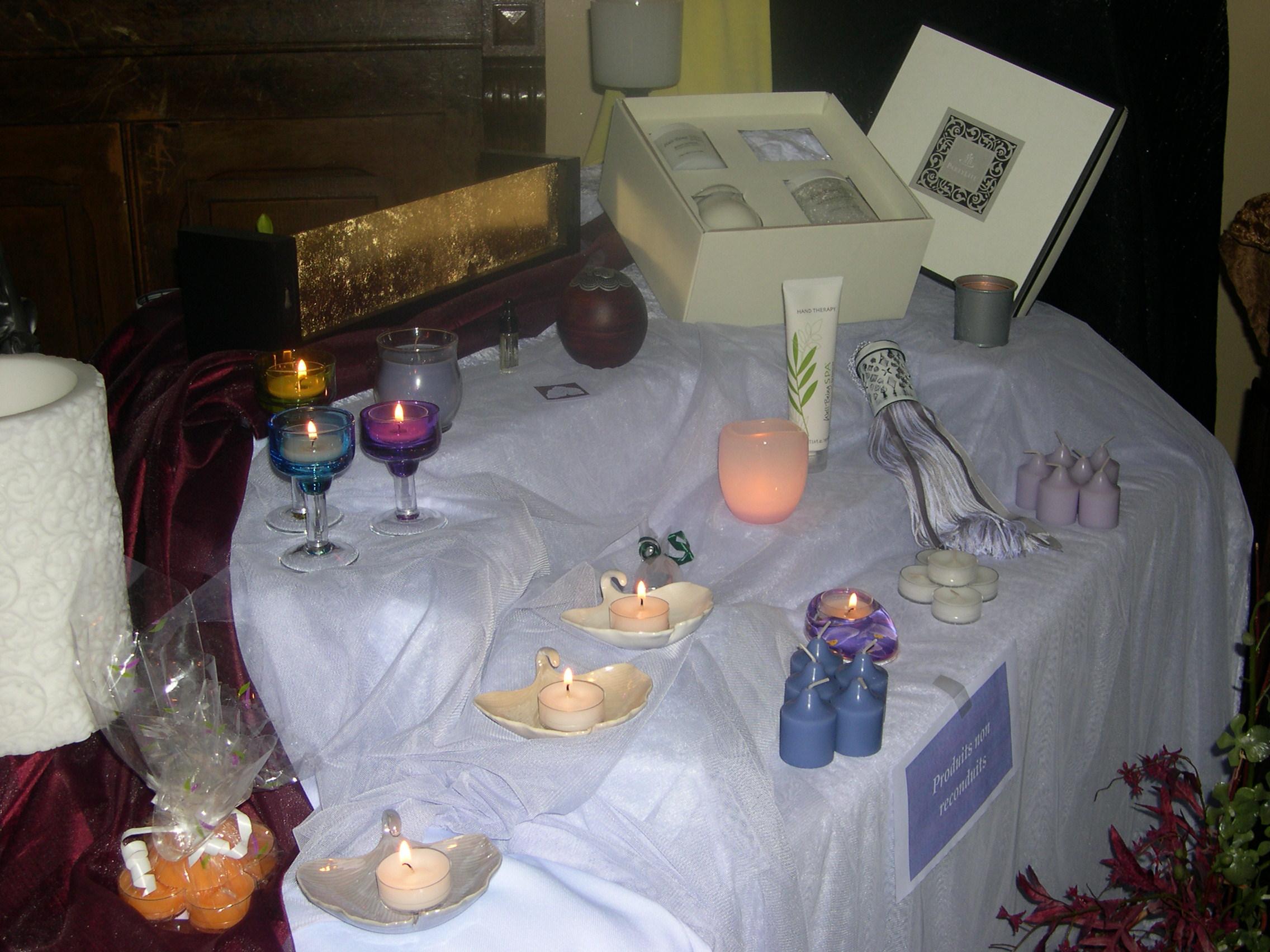 Partylite sebetfredconseil for Trio miroir partylite